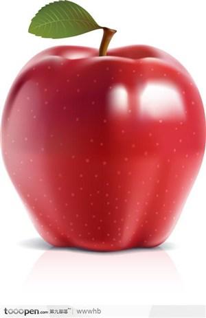 红苹果水果图片