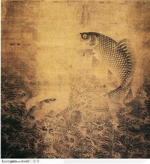 花鸟篇-鲤鱼跳龙门