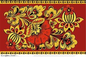 中国民俗装饰纹样矢量素材