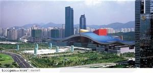 深圳·市民中心远眺图