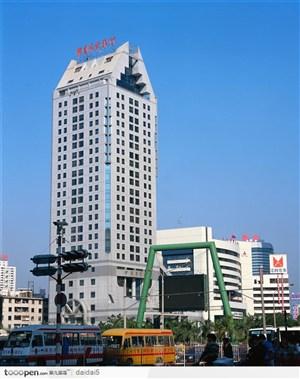 深圳城市风光-高耸的大厦