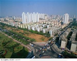 深圳城市风光-城市鸟瞰图
