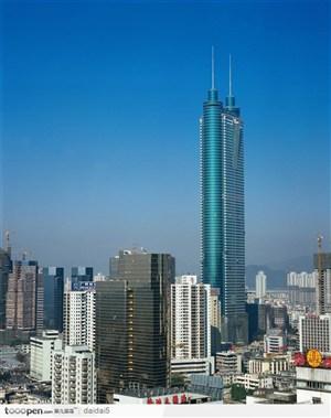 深圳第一高层建筑-地王大厦