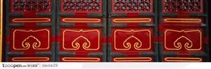 紫禁城印象-红色的木门