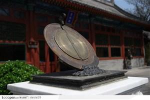 紫禁城印象-故宫印象-古代计时器月晷