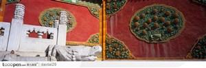 紫禁城印象-精美的红色城墙