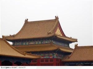 紫禁城印象-精美的皇宫房屋