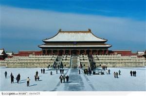紫禁城印象-漂亮的太和殿雪景