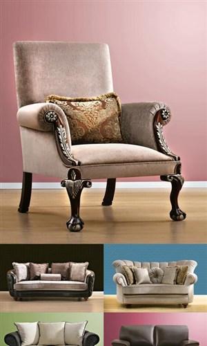 现代古典沙发高清图片素材多张打包家具图片
