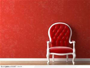 背景墙和椅子沙发