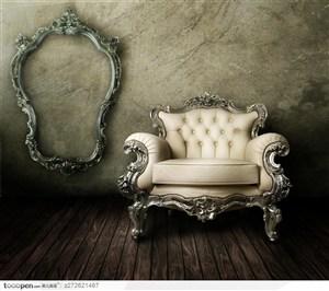 精美欧式沙发家具图片