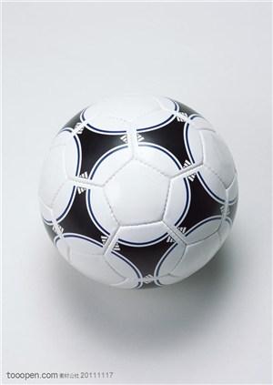 球类运动-一个足球特写