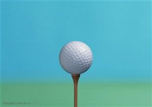 球类运动-高尔夫球特写
