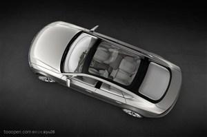 Sportback概念车-俯视下的车体