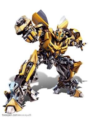 变形金刚-握拳的大黄蜂