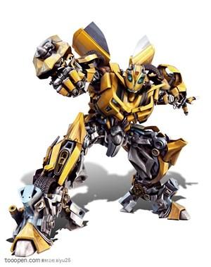 变形金刚-准备战斗的大黄蜂