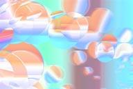 流行时尚CG背景-水中泡泡