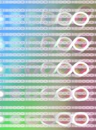 流行时尚CG背景-白色圆圈